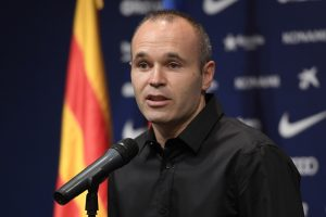 Iniesta greets Japanese football fans, vows to conquer Asia
