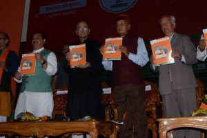 BJP unveils vision document for HP polls, offer sops to youth, senior citizens