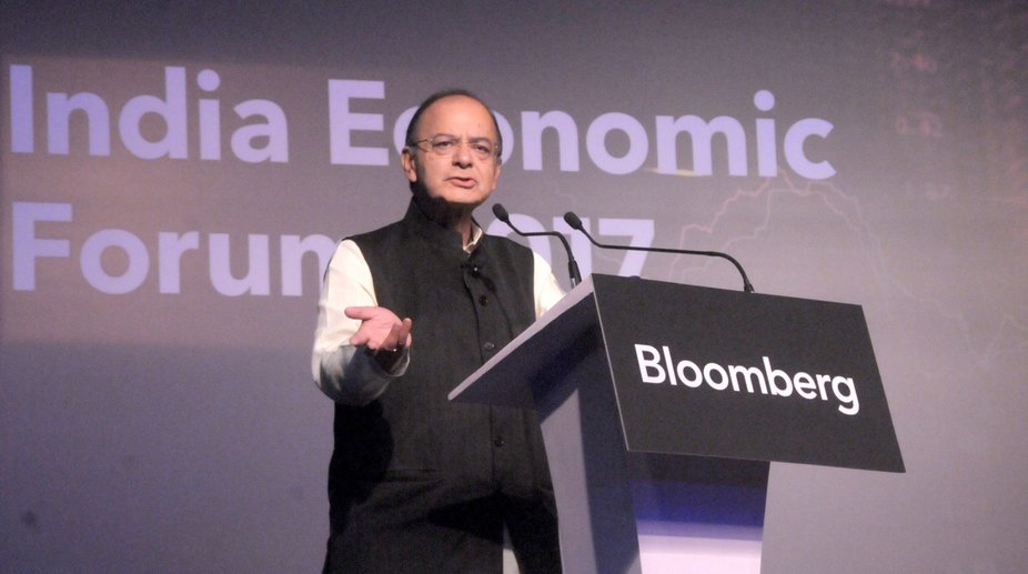 Arun Jaitley, World Economic Forum, Davos, Union Budget
