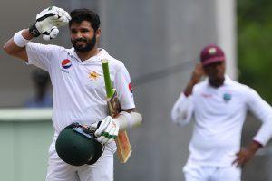 Pakistani batsman Azhar Ali in UK for treatment