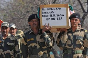 Kill 100 terrorists for my father's death: BSF martyr's daughter