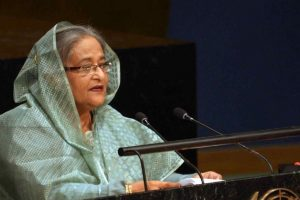 Bangladesh PM Hasina seeks UN help for Rohingya's return