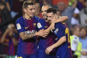 La Liga: Wins for Barcelona, Valencia, Madrid and Atletico