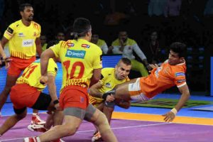 Pro Kabaddi League: Maninder scores 12 raid points as Bengal Warriors beat Tamil Thalaivas