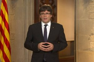 Catalan leader Carles Puigdemont refuses to cancel independence bid