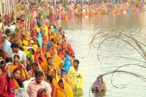 Chhath festivities begin in Bihar
