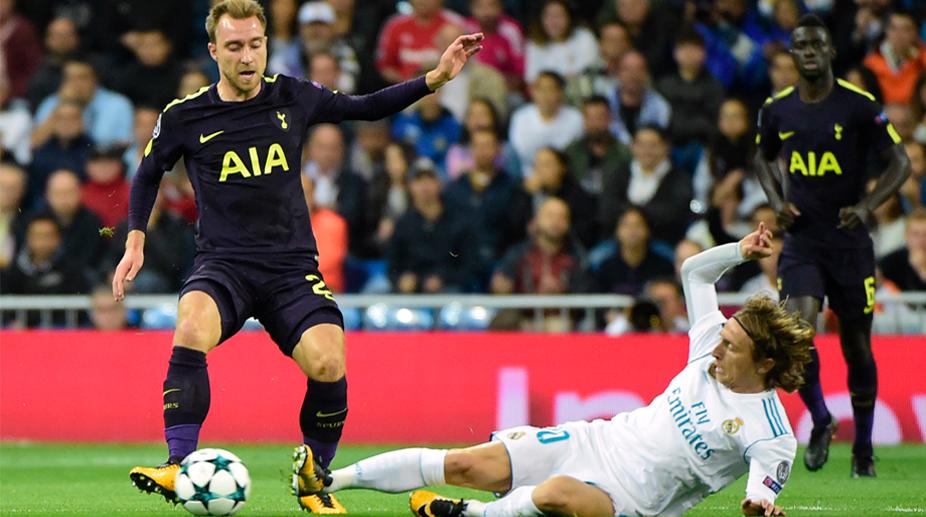 Christian Eriksen, Tottenham Hotspur FC, Real Madrid CF, UEFA Champions League