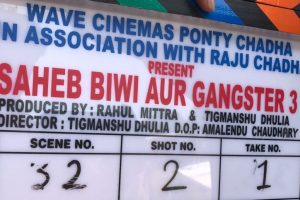 First schedule of 'Saheb Biwi Aur Gangster 3' wrapped up