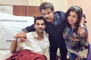 Anil Kapoor visits ailing Rajkummar Rao in hospital