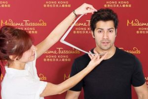 Varun Dhawan gets his wax statue at Madame Tussauds Hong Kong