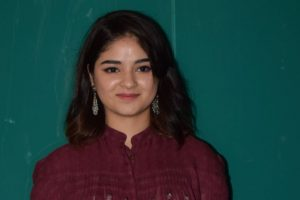 Mumbai Police record Zaira Wasim's statement, register offence