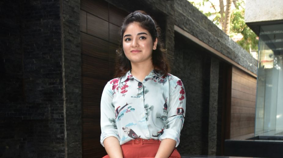 'Dangal' Actress Zaira Wasim Opens Up About Her Battle With Depression!