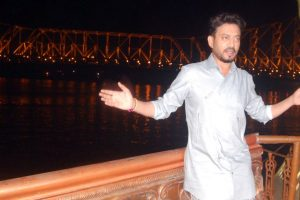 Irrfan misses co-star during a boat ride