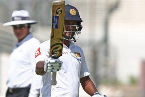 Dimuth Karunaratne puts Sri Lanka in strong position