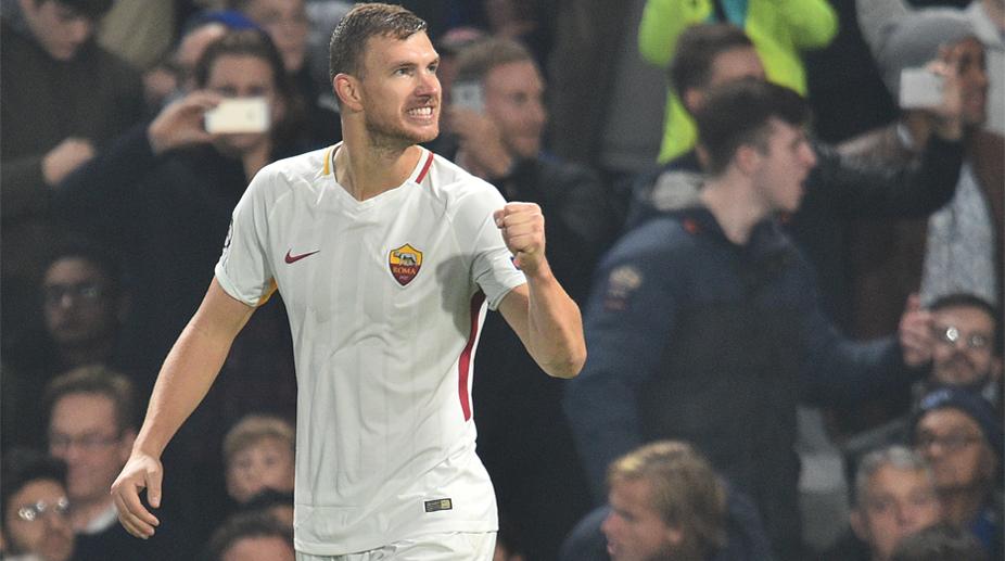 Edin Dzeko, UEFA Champions League, AS Roma