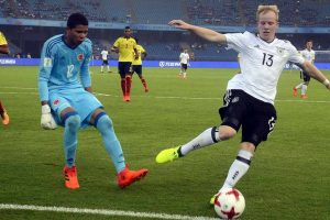 U-17 World Cup: Arp leads Germany to 4-0 win over Colombia