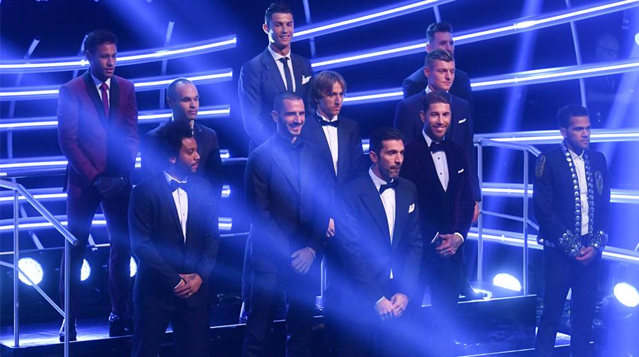 FIFA FIFPro World XI for 2017, FIFA FIFPro World Xi, World XI, Lionel Messi, Cristiano Ronaldo, Neymar, Sergio Ramos, Gianluigi Buffon