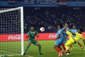 Jeakson scores India's 1st goal at FIFA U-17 World Cup; Colombia win 2-1