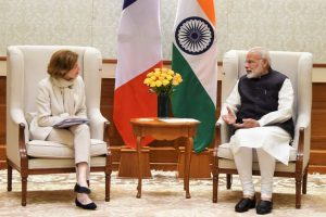 French Defence Minister calls on the Prime Minister Modi