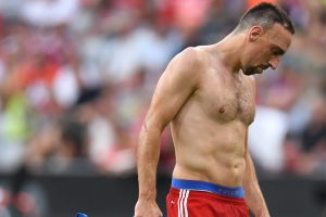 Bayern Munich winger Franck Ribery to be out for weeks