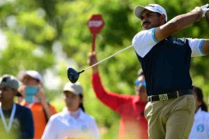 Singapore Open: Sergio Garcia shares lead, Gaganjeet Bhullar best Indian at 4-under