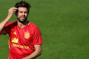 'Proud' Gerard Pique to carry on for Spain