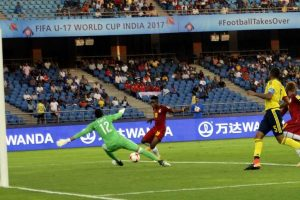 Ghana pip error prone Colombia 1-0 in FIFA U-17 World Cup opener