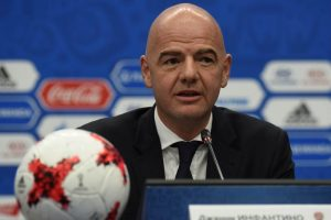 FIFA boss Gianno Infantino vows racism crackdown at Russia's World Cup