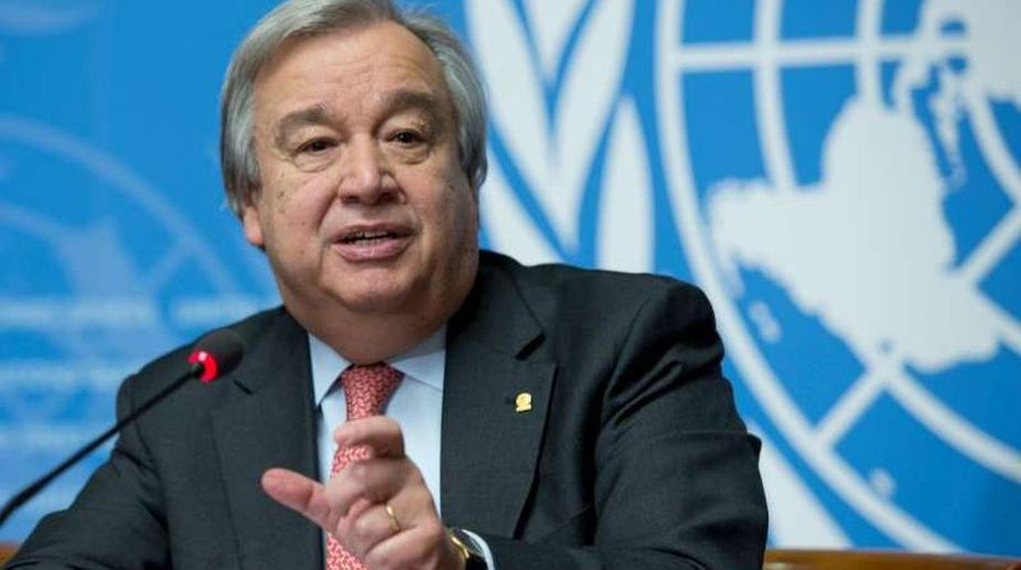 UN Secretary-General, Antonio Guterres, North Korea, war