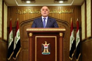 Iraqi PM predicts defeat of IS in Iraq this year
