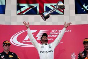 Japanese GP: Lewis Hamilton beats Max Verstappen; Sebastian Vettel retires