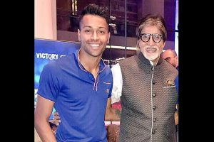 Privilege to share my birthday with you, Pandya wishes Big B