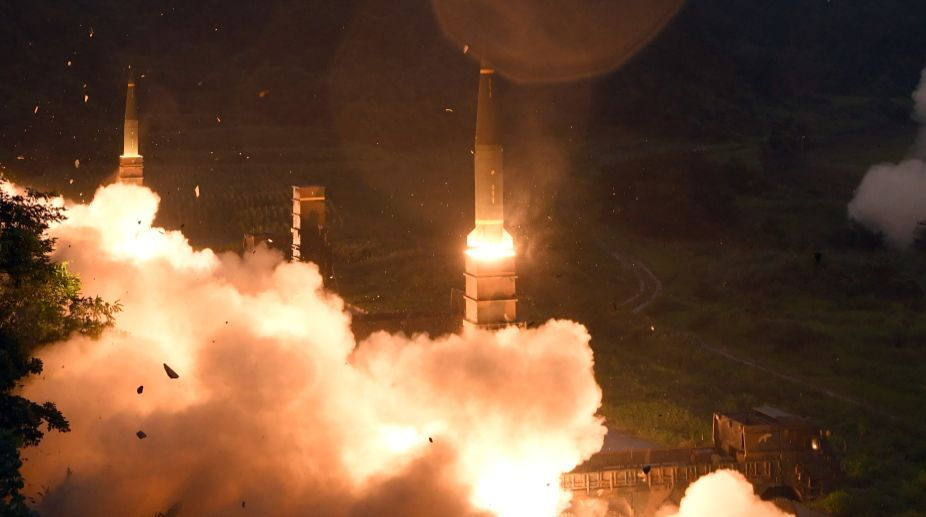 Russian Federation  test-fires 'invincible' ICBM 'Satan 2'