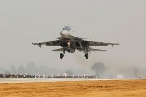 IAF fighter jets engage in special drill on Agra-Lucknow Expressway
