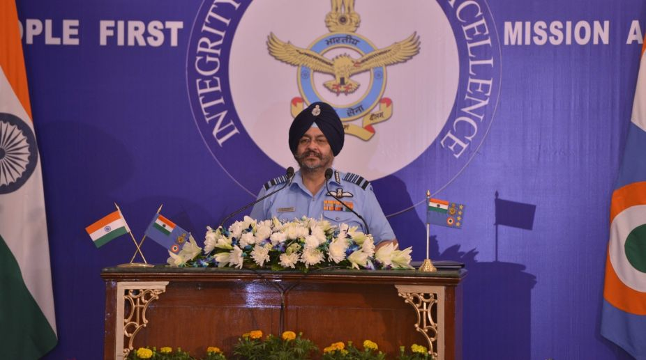 Air Chief Marshal B. S. Dhanoa