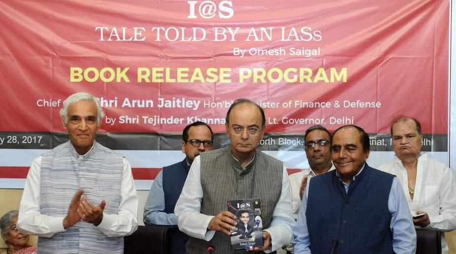 Ex-Delhi chief secy's book a wacky take on bureaucracy