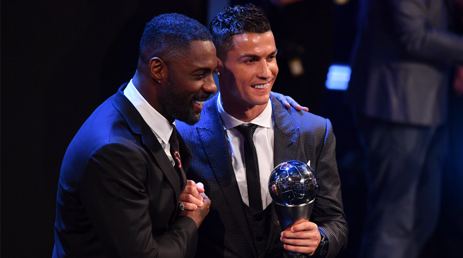 Cristiano Ronaldo, Idris Elba, Best FIFA Men's Player award