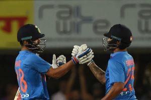 Ranchi T20I: Dhawan, Kohli guide India to 9-wicket win over Australia