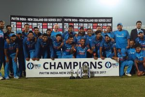 India beat New Zealand in 3rd ODI to clinch series