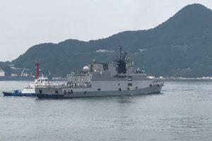 Indian Naval Ships visit Japan