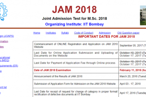 Last date to apply for IIT JAM 2018 extended; here is how you can apply