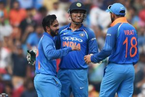 5th ODI: Spinners put India in driver's seat; Australia struggle in first-half