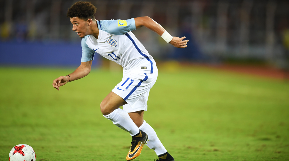 Jadon Sancho, FIFA U-17 World Cup, England U-17 vs Chile U-17