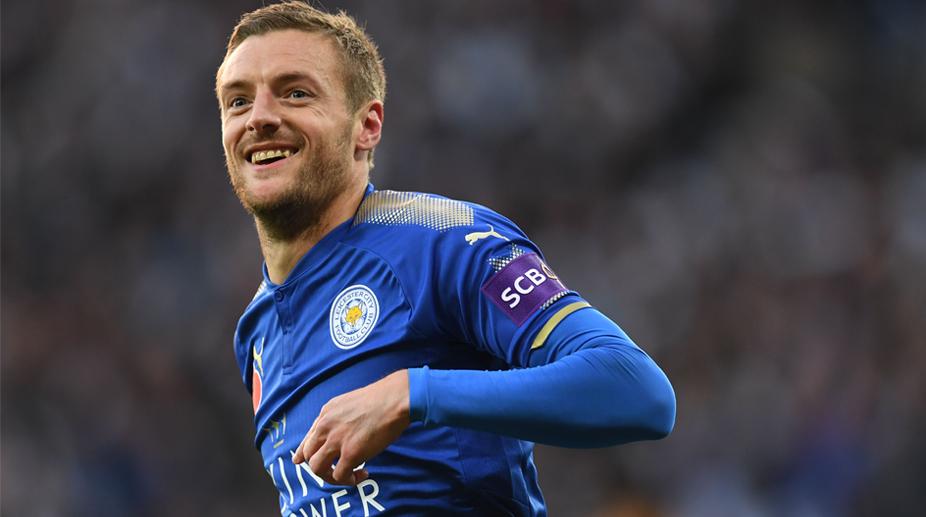 Leicester City vs Everton, Premier League, Leicester City F.C., Jamie Vardy