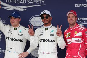 Japanese GP: Lewis Hamilton clinches maiden Suzuka pole