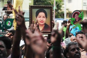 Stone laid for Jayalalithaa memorial in Chennai, opposition cries foul