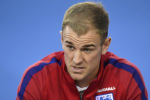 Who are Joe Hart's challengers as England's No.1?