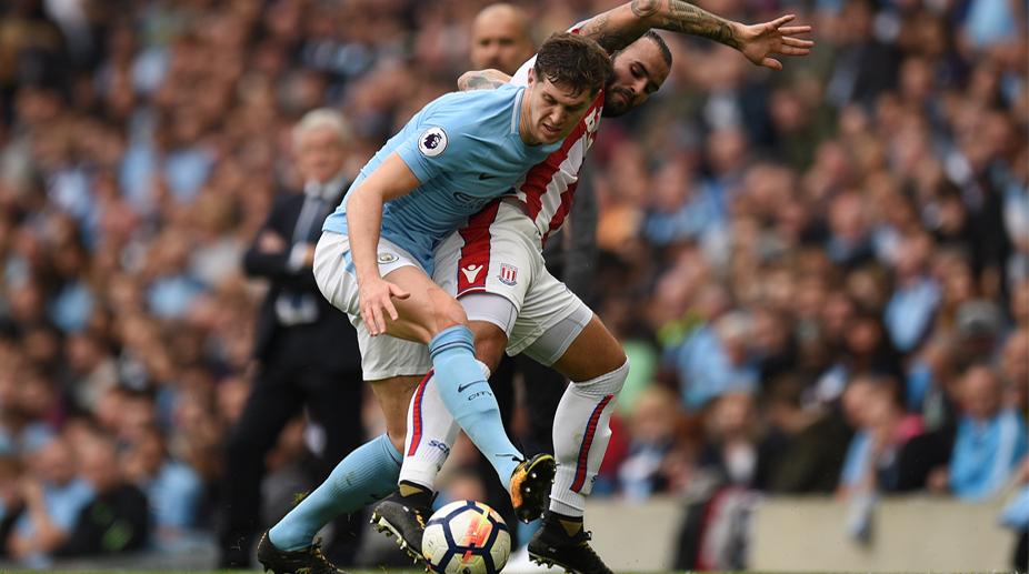Manchester City FC, Premier League, John Stones, Stoke City FC, Jose