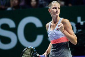 Karolina Pliskova begins WTA Finals with win over Venus Williams