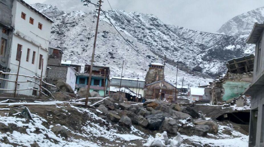 snowfall, Uttarakhand hills, Hemkund Saheb, Badrinath